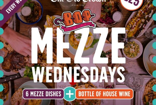 Mezze Wednesdays at The Old Crown